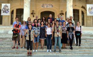 participanti la turul de cercetare in Dobrogea